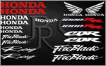 KIT stickers Honda CBR 1000 RR Fireblade 2 couleurs