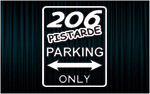 206 PISTARDE Parking only