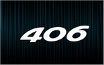 X2 stickers 406 (Peugeot)