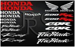 KIT stickers HONDA CBR 600 RR Fireblade  2 couleurs