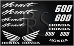 KIT stickers Honda 600 HORNET (2)