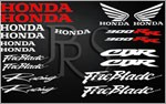KIT stickers Honda CBR 900 RR Fireblade 2 couleurs