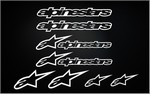 KIT stickers ALPINESTARS (1)