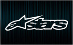 X2 Stickers ALPINESTARS (3)