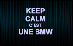 X1 Stickers Keep Calm bmw