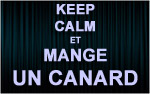 X1 Stickers Keep Calm canard