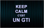 X1 Stickers Keep Calm GTI