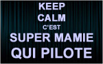 X1 Stickers Keep Calm mamie