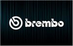 X2 Stickers BREMBO