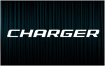 X2 stickers CHARGER (1) (Dodge)