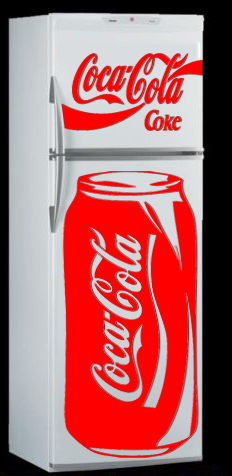 deco frigo coca cola 2 boutique. Black Bedroom Furniture Sets. Home Design Ideas