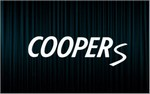 X2 stickers COOPER S (Mini)