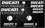 KIT stickers DUCATI PERFORMANCE