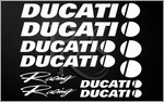 KIT stickers DUCATI RACING