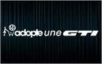 X1 stickers ADOPTE UNE VW GTI