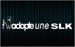 X1 stickers ADOPTE UNE MERCEDES SLK