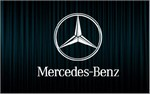 X2 stickers MERCEDES BENZ