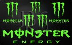 KIT stickers MONSTER ENERGY (3)