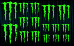 KIT stickers MONSTER ENERGY (4)