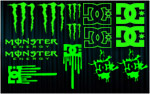 KIT stickers MONSTER - DC Shoes