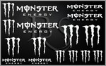 KIT stickers MONSTER ENERGY (2)