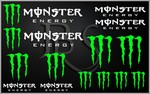 KIT stickers MONSTER ENERGY (1)