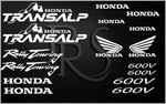 KIT stickers Honda TRANSALP 600V