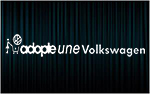 X1 stickers ADOPTE UNE VW