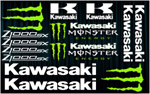 KIT stickers Kawasaki Z1000 SX Monster