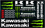 KIT stickers Kawasaki Z1000 Monster