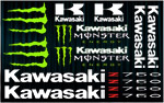 KIT stickers Kawasaki Z750 Monster