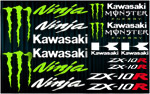 KIT stickers Kawasaki ZX-10R Monster