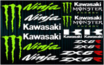 KIT stickers Kawasaki ZX-6R Monster